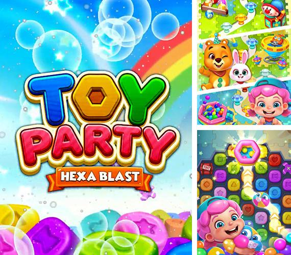 Toy party: Dazzling match 3