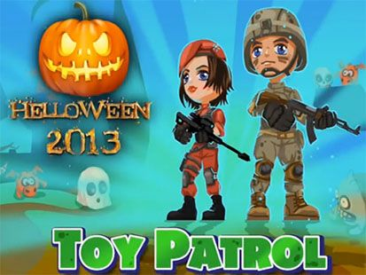 Toy patrol shooter 3D Helloween poster