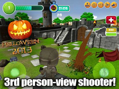Toy patrol shooter 3D Helloween screenshot 1
