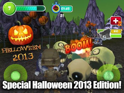 Toy patrol shooter 3D Helloween screenshot 3