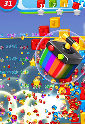 Screenshots do Toy smash: Cube crush collapse - Perigoso para tablet e celular Android.