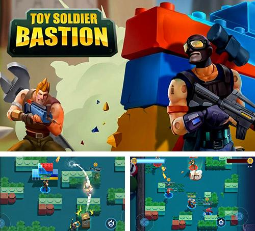 Toy soldier bastion