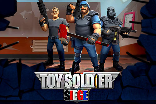 Toy soldier siege poster
