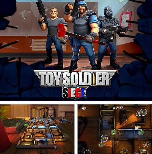 Toy soldier siege