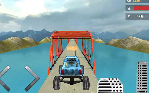 Toy truck hill racing 3D скриншот 2