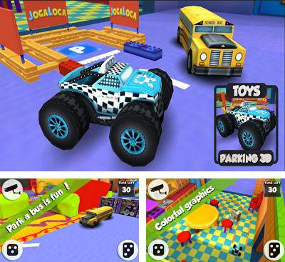 In addition to the game Helidroid 3D for Android phones and tablets, you can also download Toy's Parking 3D for free.