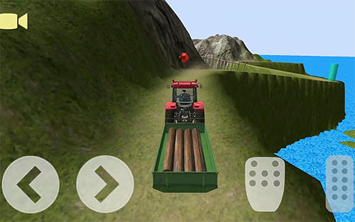 Tractor driver cargo 3D for Android - Download APK free