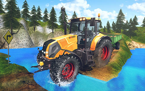 Tractor driver cargo 3D скриншот 2