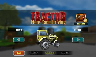Tractor more farm driving poster