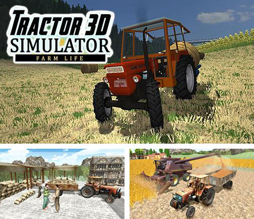 In addition to the game Tractor farming simulator 2017 for Android phones and tablets, you can also download Tractor simulator 3D: Farm life for free.