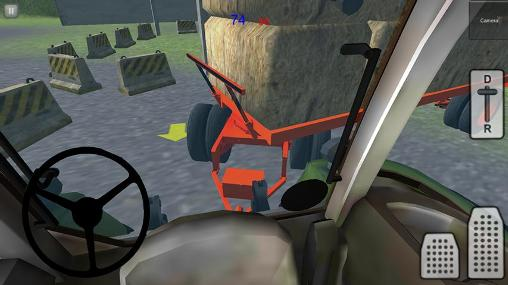 Tractor simulator 3D: Hay 2 screenshot 1