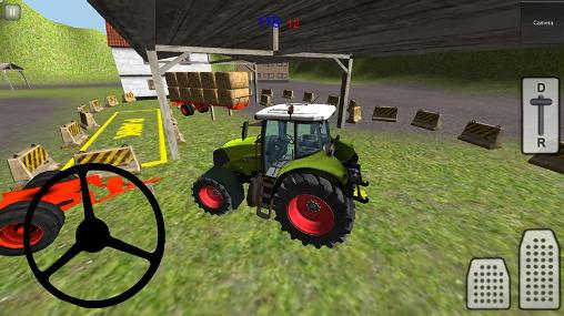 Tractor simulator 3D: Hay 2 screenshot 2