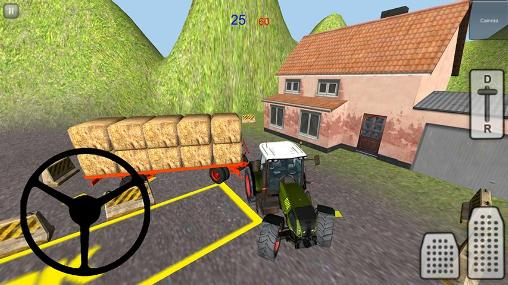 Tractor simulator 3D: Hay 2 screenshot 3