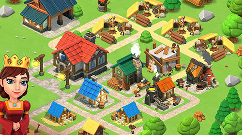 Screenshots von Trade town by Ministry of games für Android-Tablet, Smartphone.