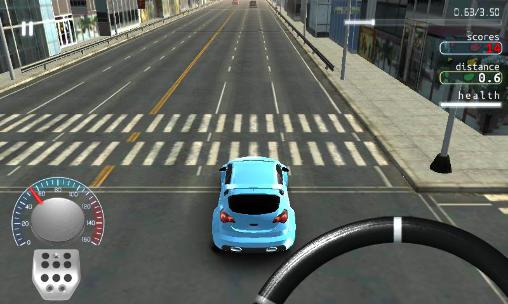 Screenshots von Traffic nation: Street drivers für Android-Tablet, Smartphone.