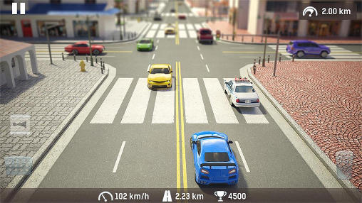 Screenshots do Traffic: Need for risk and crash. Illegal road racing - Perigoso para tablet e celular Android.