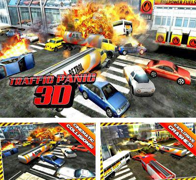 In addition to the game Transporters for Android phones and tablets, you can also download Traffic Panic 3D for free.