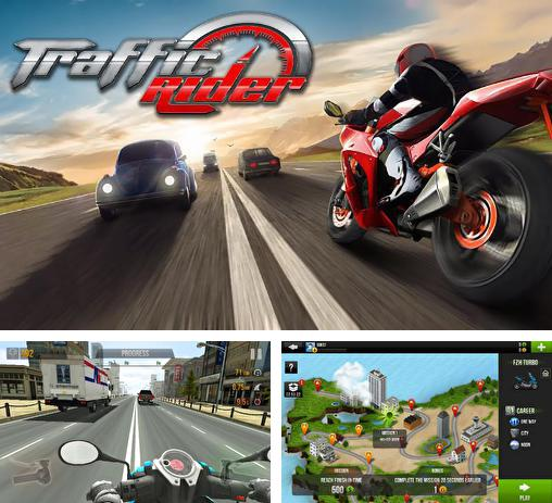 In addition to the game Highway Rider for Android phones and tablets, you can also download Traffic rider for free.