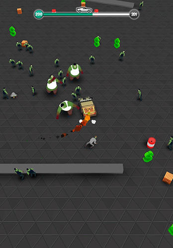 Traffic slam: Zombie drift hunters screenshot 2