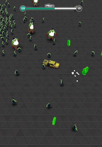 Traffic slam: Zombie drift hunters screenshot 3