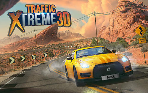Traffic xtreme 3D: Fast car racing and highway speed poster