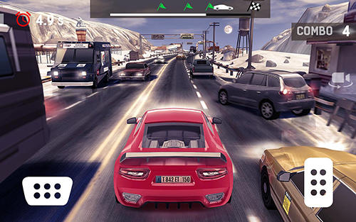 Traffic xtreme 3D: Fast car racing and highway speed screenshot 2