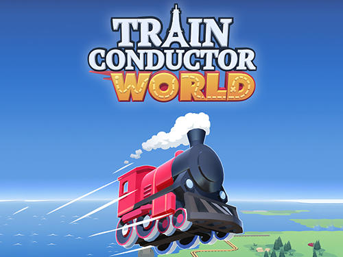 Train conductor world poster