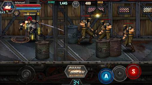 Train crasher: The trigger of revolution for Android