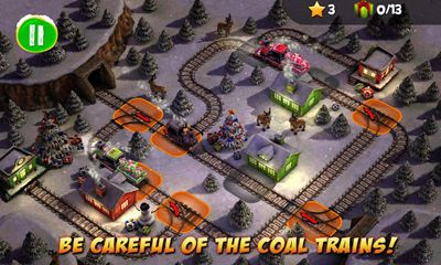 Screenshots do Train Crisis Christmas - Perigoso para tablet e celular Android.