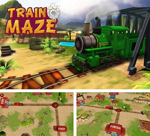 In addition to the game Train Crisis HD for Android phones and tablets, you can also download Train maze 3D for free.