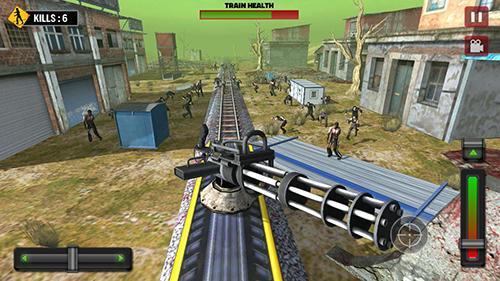 Train shooting: Zombie war screenshot 1