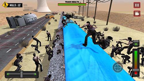 Train shooting: Zombie war screenshot 2