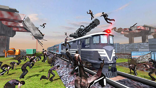 Train shooting: Zombie war screenshot 3
