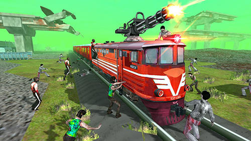 Train shooting: Zombie war screenshot 5