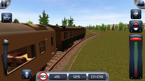 Screenshots von Train sim 15 für Android-Tablet, Smartphone.