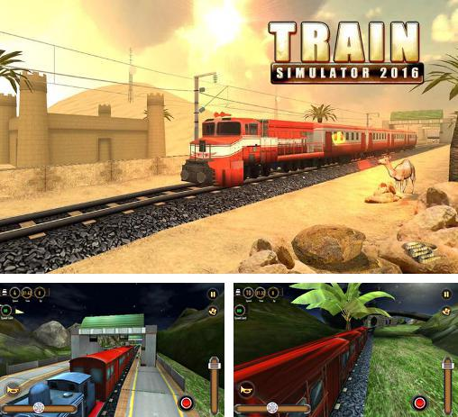 In addition to the game Train Sim for Android phones and tablets, you can also download Train simulator 2016 for free.