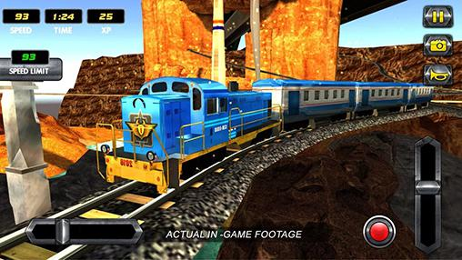 Screenshots von Train simulator: Uphill drive für Android-Tablet, Smartphone.