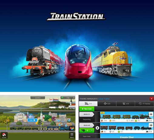 En plus du jeu Mon Chemin de Fer pour téléphones et tablettes Android, vous pouvez aussi télécharger gratuitement Station du chemin de fer: Jeu sur les rails, Train station: The game on rails.