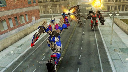 Скачати гру Transformers: Age of extinction v1.11.1 на Андроїд телефон і планшет.