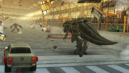 Screenshots von Transformers: Age of extinction für Android-Tablet, Smartphone.