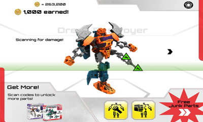 Transformers Construct-Bots screenshot 4