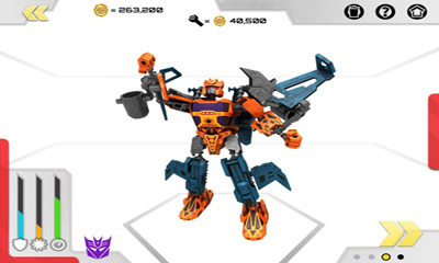 Transformers Construct-Bots screenshot 5