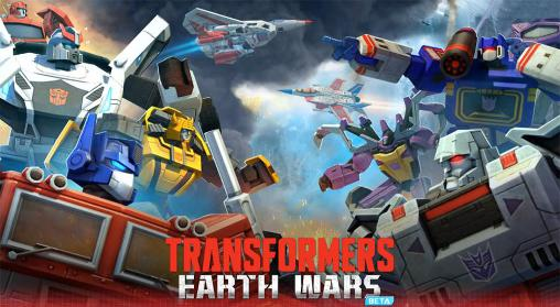 Transformers: Earth wars обложка