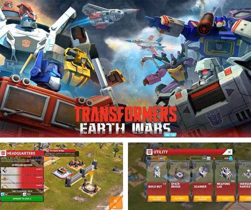 In addition to the game Transformers: Earth wars for Android, you can download other free Android games for LG G Pad 8.3.