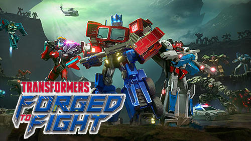 Transformers: Forged to fight обложка