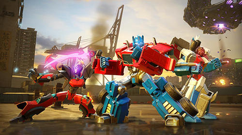 Screenshots von Transformers: Forged to fight für Android-Tablet, Smartphone.