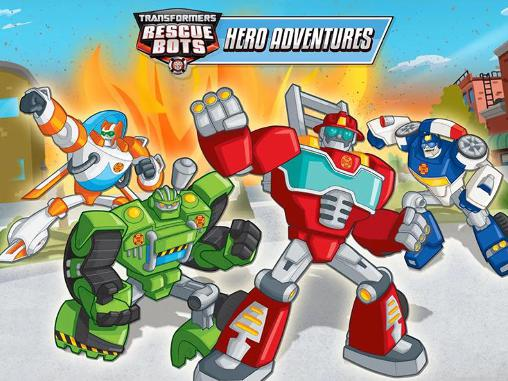 Transformers rescue bots: Hero adventures poster