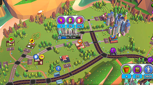 Screenshots von Transit king tycoon für Android-Tablet, Smartphone.