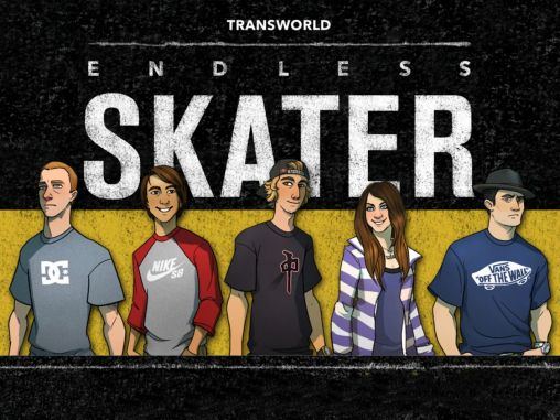 Transworld endless skater poster