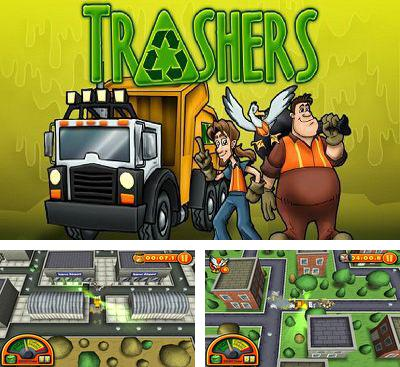In addition to the game Undertaker for Android phones and tablets, you can also download Trashers for free.